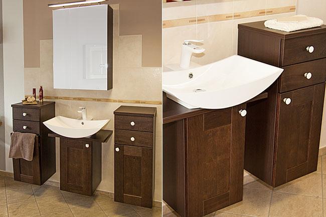 Auch bei badmöbeln kann man kreativ sein und seinem individuellen geschmack ausdruck verleihen so ein badmöbel in echtholz ist wohnlich und macht schon